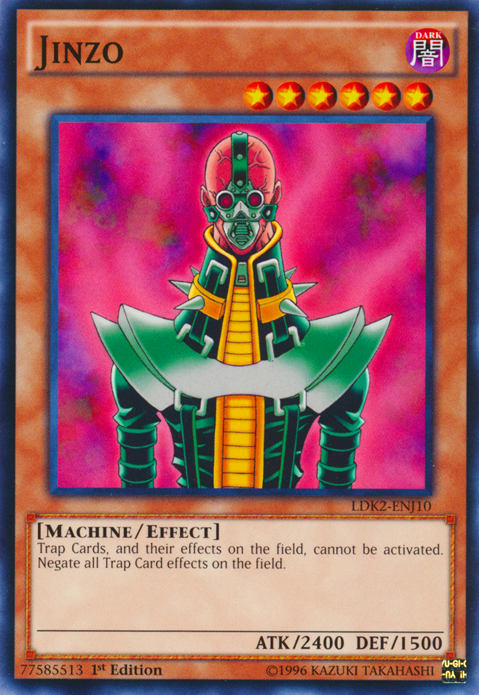 Jinzo, one of the most nostalgic Yugioh cards