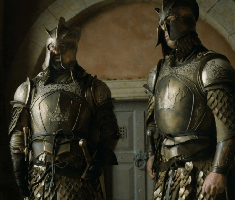 Kingsguard armor is some of the best in Game of Thrones
