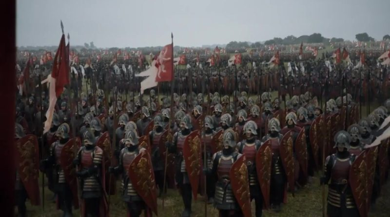 Lannister armies consist of well trained, experienced soldiers