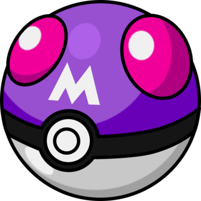 Master Ball, the best Poke Ball