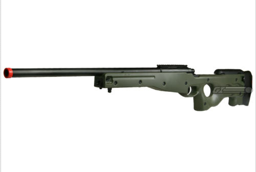 MK96 model airsoft sniper rifle, one of the best available for the price