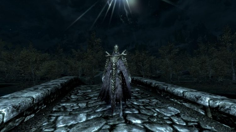 Otar, the 2nd best heavy armor helmet in Skyrim