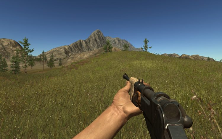Bolt Action Rifle, the 5th best weapon in Rust