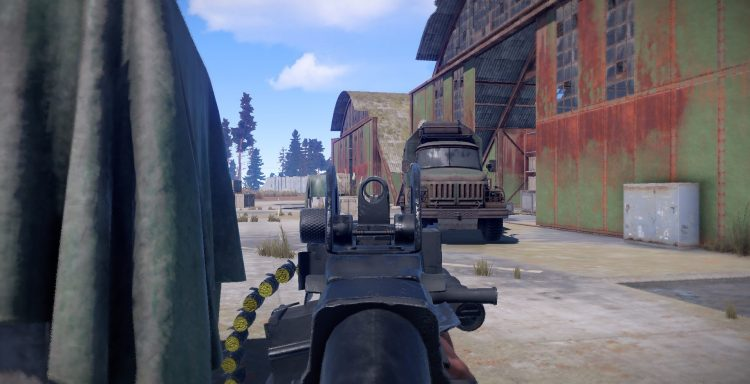 M249, one of the best guns in Rust
