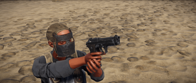 M92, one of the best guns in Rust