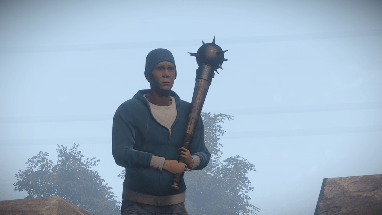The Mace, the 6th best melee weapon in Rust