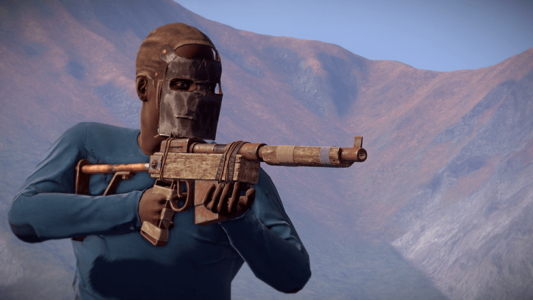Semi automatic Rifle, the 6th best weapon in Rust