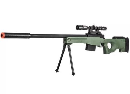 Spring L96 model airsoft sniper rifle, one of the best available for the price