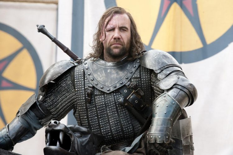The Hound's armor is some of the best in Game of Thrones