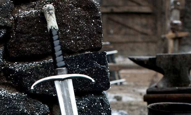 Valyrian steel swords have remarkable combat traits