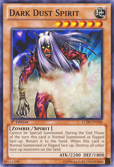 Dark Dust Spirit, one of the best spirit monsters in Yugioh