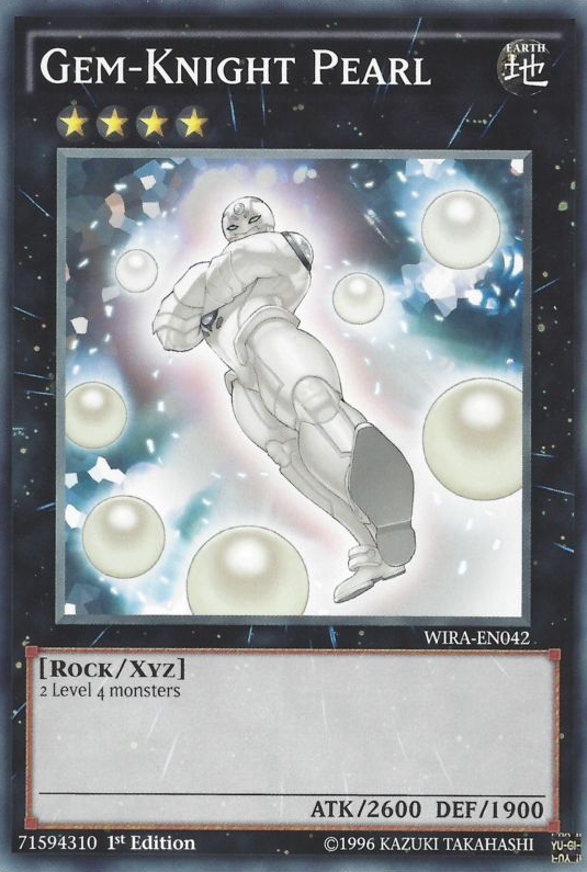 Gem-Knight Pearl, one of the best Rank 4 XYZ Yugioh monsters