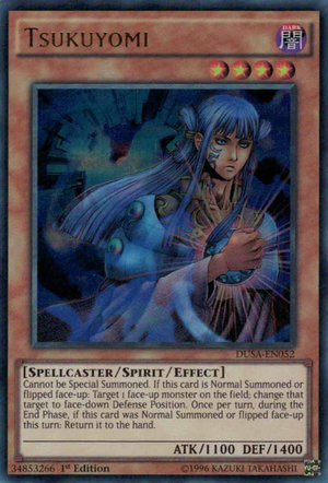 Tsukuyomi, one of the best spirit monsters in Yugioh