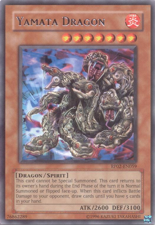 Yamata Dragon, one of the best spirit monsters in Yugioh