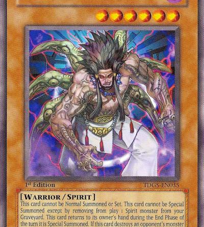 Yamatono Kami, the best spirit monster in Yugioh!