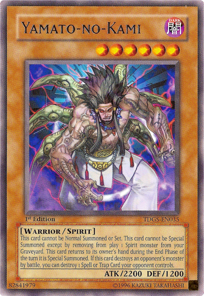 Yamatono Kami, the best spirit monster in Yugioh!