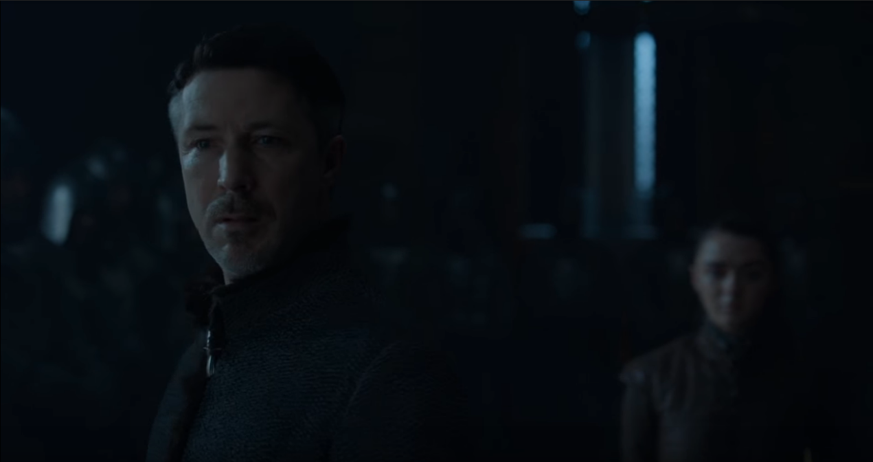 Littlefinger finally died this season, the Starks were too smart for him