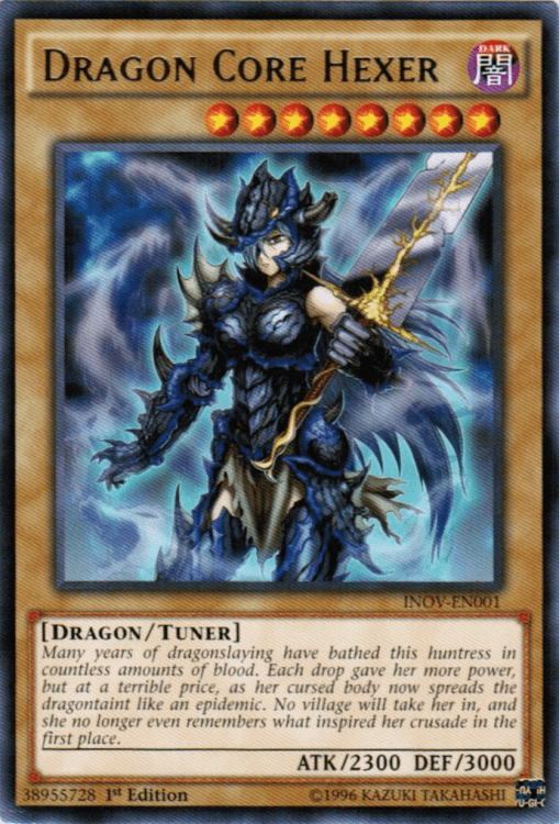 Dragon Core Hexer, one of the best normal monsters in Yugioh