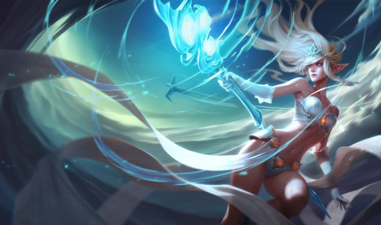 Janna, one of the most banned champions at the League of Legends World Championship 2017