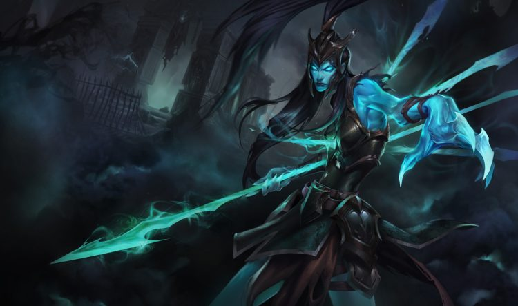 Kalista, the most banned champion of Worlds 2017 with a 100% banrate