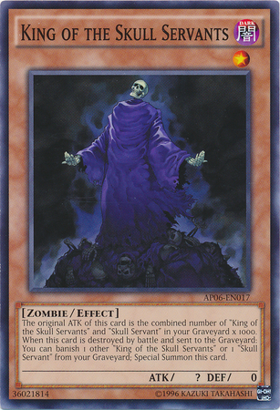 King of the Skull Servants, one of the best level 1 monsters in Yugioh