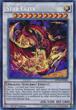 Star Eater, one of the best level 11 monsters in Yugioh