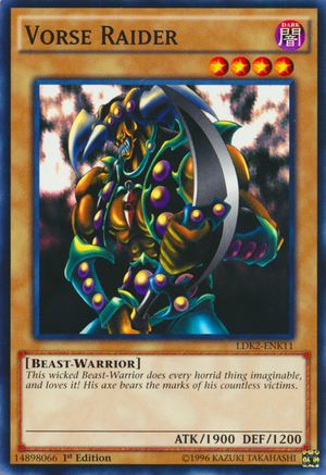 Vorse Raider, one of the best normal monsters in Yugioh