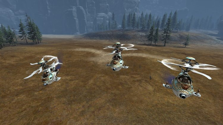 Gyrocopters, one of the best Dwarf units in TOTAL WAR: WARHAMMER