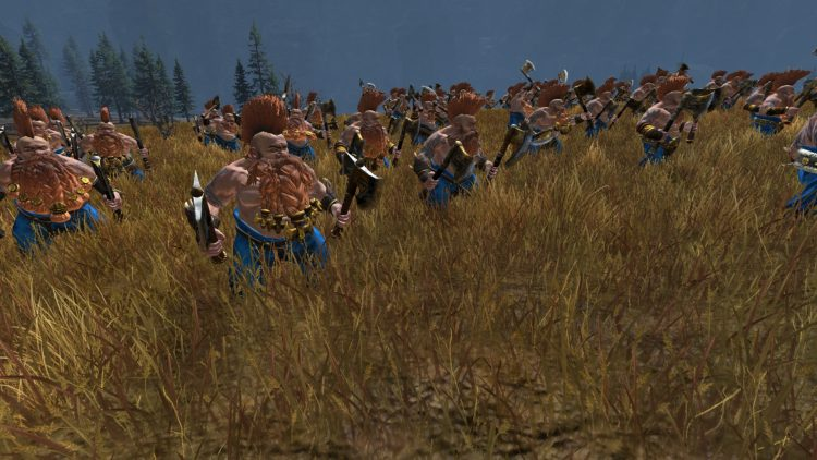 Slayers, one of the best Dwarf units in TOTAL WAR: WARHAMMER