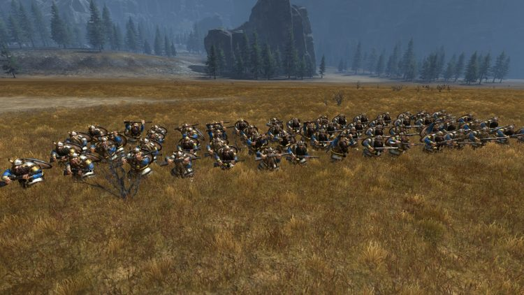 Thunderers, one of the best Dwarf units in TOTAL WAR: WARHAMMER