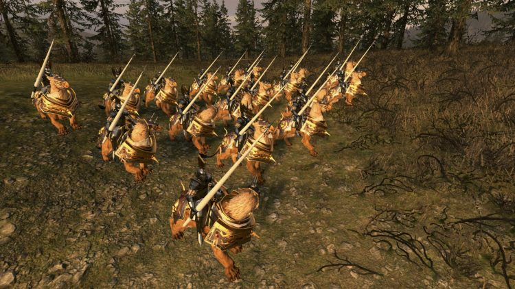 Demigryph Knights, one of the best Empire units in TOTAL WAR: WARHAMMER