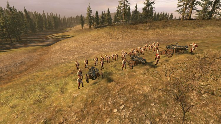 Great Cannon, one of the best Empire units in TOTAL WAR: WARHAMMER