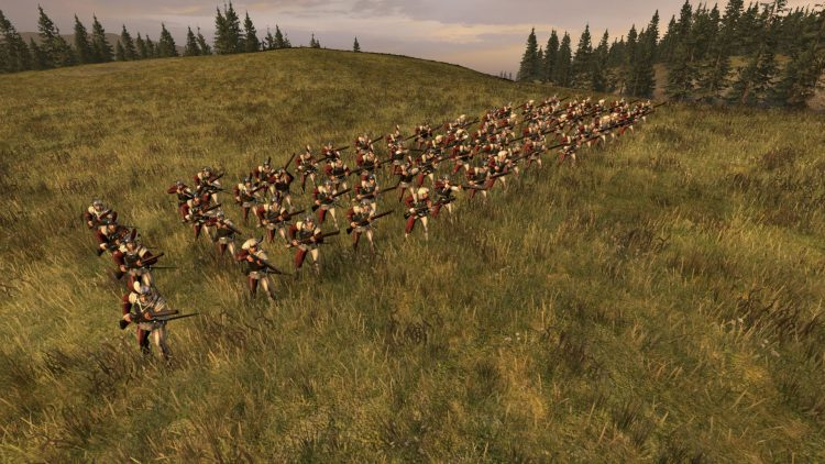 Handgunners, one of the best Empire units in TOTAL WAR: WARHAMMER