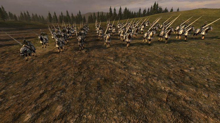 Empire Knights, one of the best Empire units in TOTAL WAR: WARHAMMER