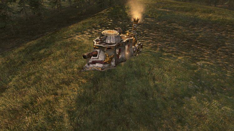 Steam Tank, the best Empire unit in TOTAL WAR: WARHAMMER