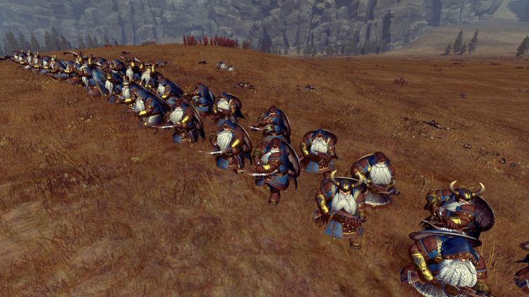 Rangers, one of the best Dwarf units in TOTAL WAR: WARHAMMER