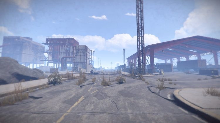 Harbor, one of the best momuments in Rust