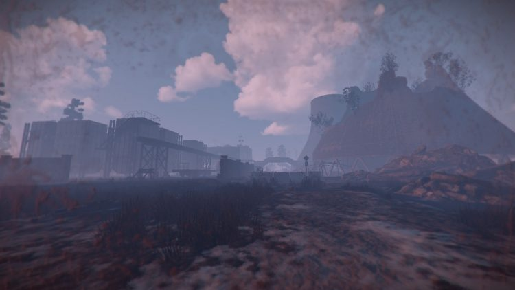 Power Plant, one of the best momuments in Rust
