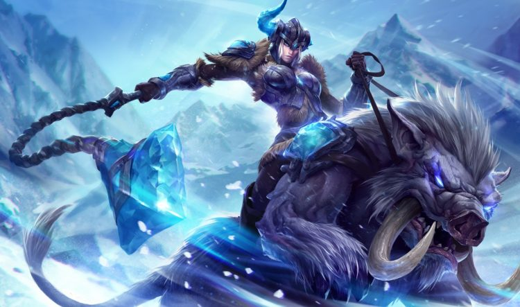Sejuani, one of the most banned champions at the League of Legends World Championship 2017