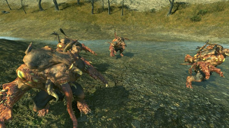 Chaos Spawn, one of the best Beastmen units in TOTAL WAR: WARHAMMER