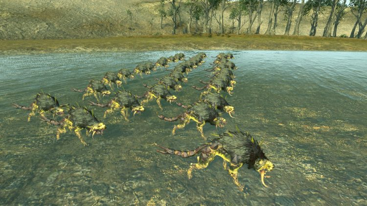 Chaos Warhounds (Poison), one of the best Beastmen units in TOTAL WAR: WARHAMMER