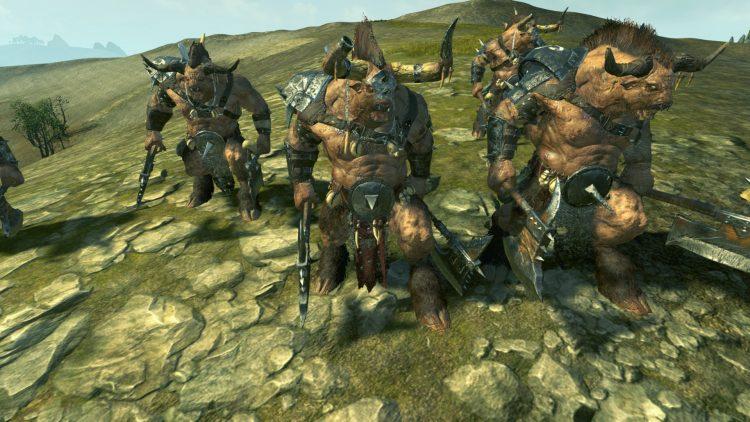 Minotaurs, one of the best Beastmen units in TOTAL WAR: WARHAMMER