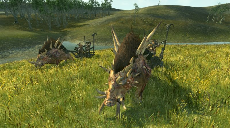 Razorgor Chariots, one of the best Beastmen units in TOTAL WAR: WARHAMMER