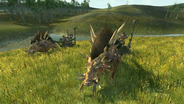 Razorgor Chariots, one of the best Beastmen units in TOTAL WAR: WARHAMMER