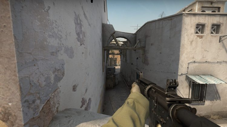 M4A4, one of the best guns in Counter Strike: Global Offensive
