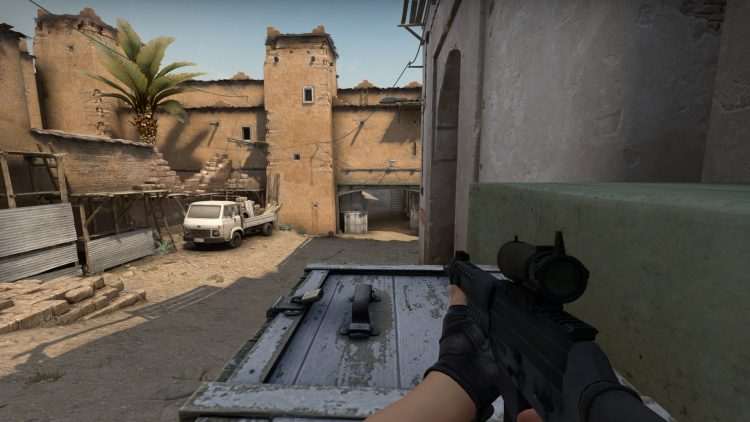 SG553, one of the best guns in Counter Strike: Global Offensive