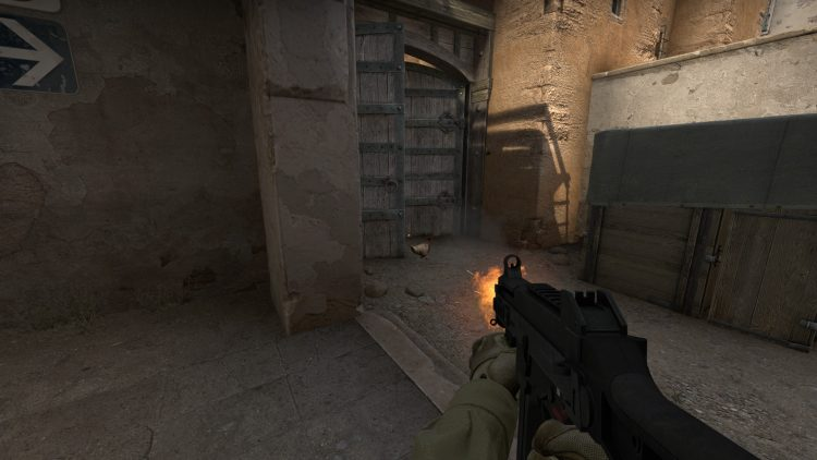 UMP45, one of the best guns in Counter Strike: Global Offensive
