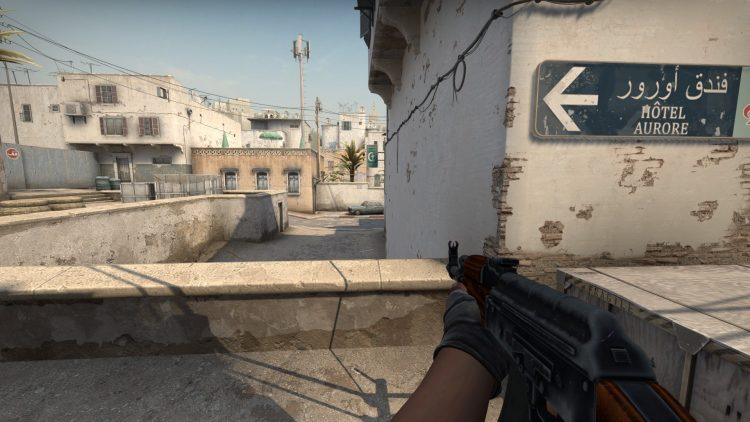 AK-47, the best gun in Counter Strike: Global Offensive