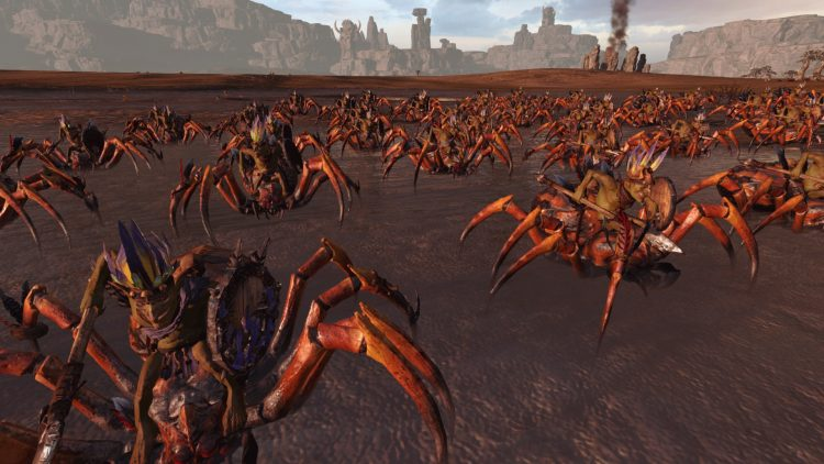 Goblin Forest Spider Riders, one of the best goblin units in TOTAL WAR: WARHAMMER