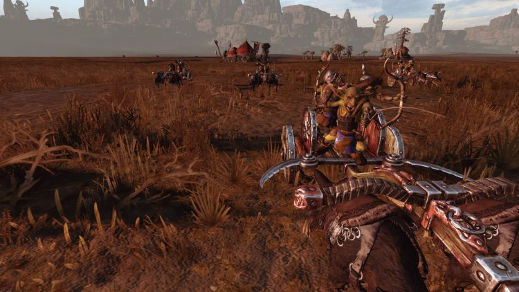 Wolf Chariots, one of the best goblin units in TOTAL WAR: WARHAMMER